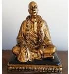 """Prabhupada Vyasasana Figure (7.5"""") - Brass Finish"""