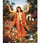 Lord Caitanya with Kirtan Party
