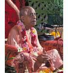 Srila Prabhupada on Pink Vyasasana