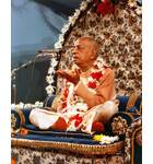 Srila Prabhupada in Mexico City, Giving Lecture on Blue Vyasasan