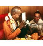 Srila Prabhupada With Book