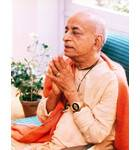 Srila Prabhupada Folding Hands with Digital Watch