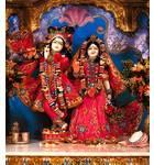 Sri Sri Radha Madhava Hari -- Bhaktivedanta Cultural Center-Phoenix