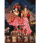 Sri Sri Radha-Radha-Kantha  - New Sankirtana Puri -  New Orleans, Louisiana