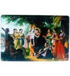 Acrylic Stand -- Krishna with Astasakhi (8 Gopis)  (large size)