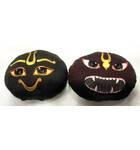Childrens Stuffed Toy: Narayana Sila and Narasimha Sila Dolls (Set of 2)