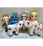 Krishna and Balaram Vraja (Vrindavan) Lila -- Childrens Stuffed Toy