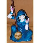 "Meera with Sitar, also known as Mira Bai Polyresin Figure (5"" high)"