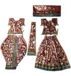 Radha Krishna Dress Multi Printed (R1400)
