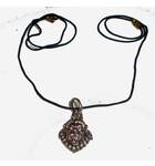 Nrsimhadeva Necklace with Black Thread (small size)