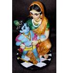 "New Damodar Krishna -- Polyresin Deity (8.5"" high)"