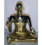 "Srila Prabhupada Brass Deity 3"""