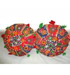 Rajasthani Handmade Cushions (Set of 2)
