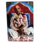 Acrylic Stand -- Srila Prabhupada on Vyasasana  (large size)