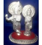 "White Metal Radha Krishn (5"" high)"