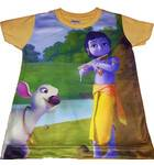 Boys Krishna Digital Print T-shirt