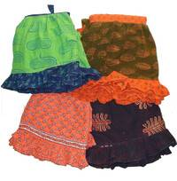 Gopi Dress -- Frill Skirt, 2 piece with Dupatta