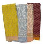 Sari, Synthetic Crepe