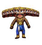Doll Ravana Demon with Ten Heads (Dashanan)