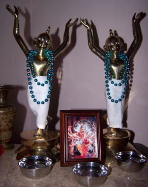 Gaura Nitai Brass Deities